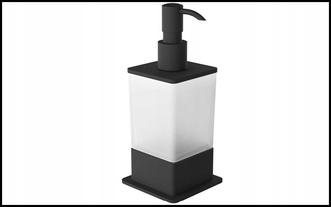 Vynikajúci čierny dávkovač tekutého mydla Riko