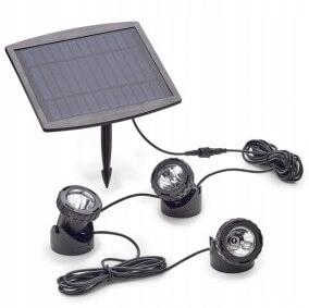 Светодиодное освещение для пруда Pontec PondoSolar 3x0,5Вт
