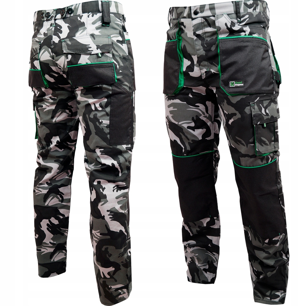 Камуфляжные рабочие брюки CAMO COLONEL размер L / 52