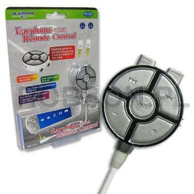 Rozdeľovač slúchadiel s diaľkovým ovládaním na konzolu PSP
