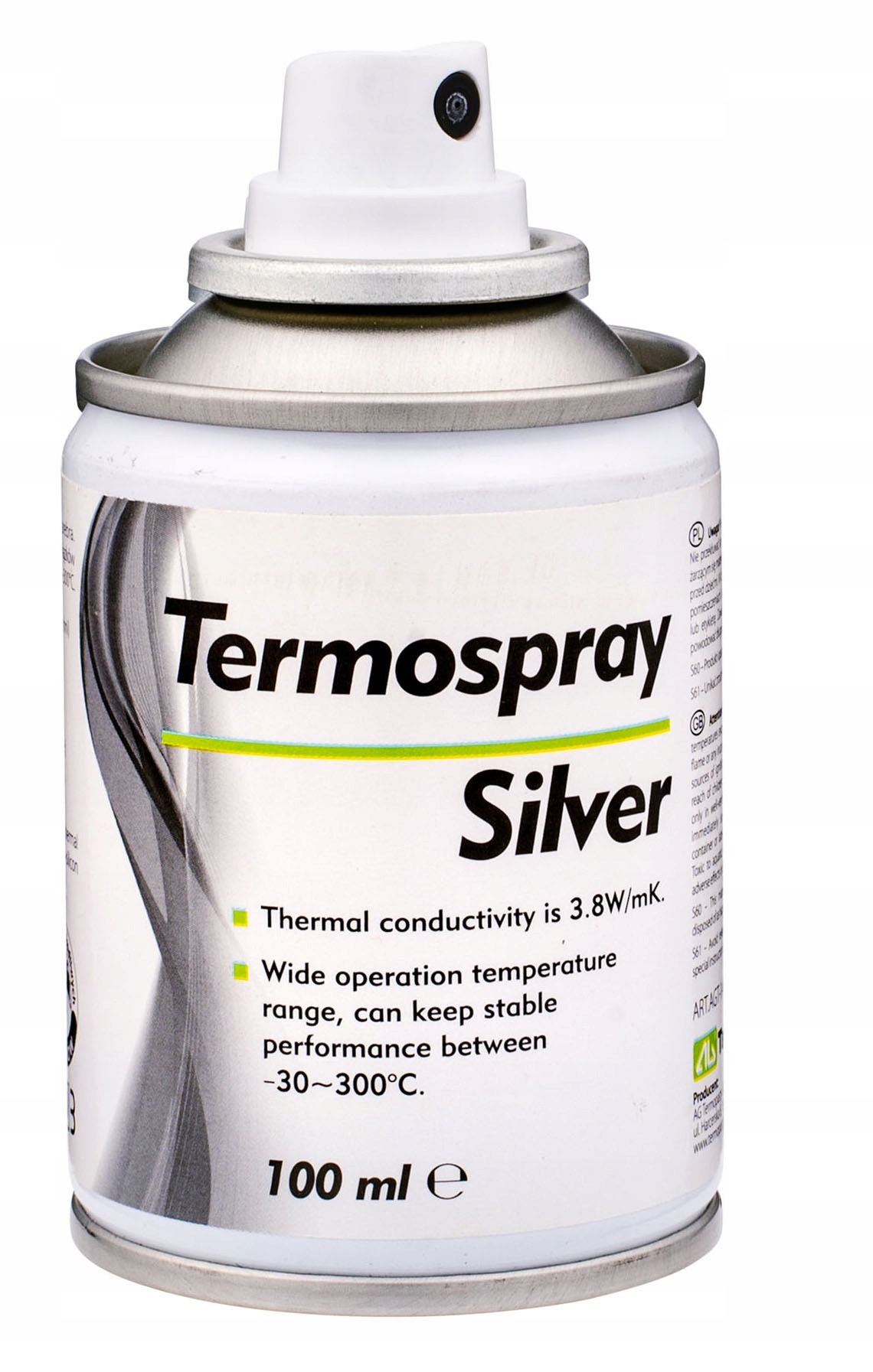 Termospray Silver AG 100 мл зубная паста - спрей