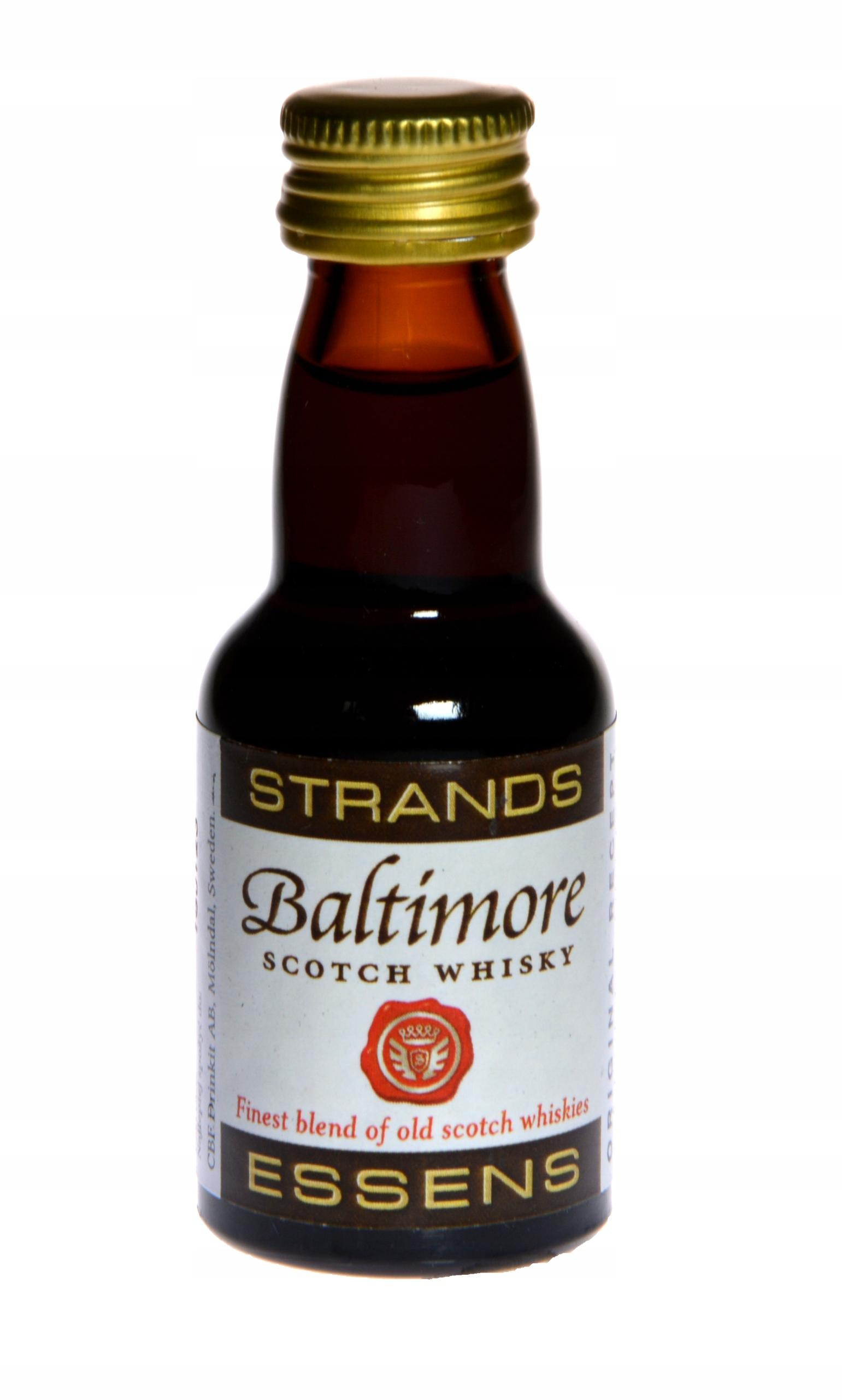 Zaprawka do alkoholu STRANDS BALTIMORE SCOTCH WHI