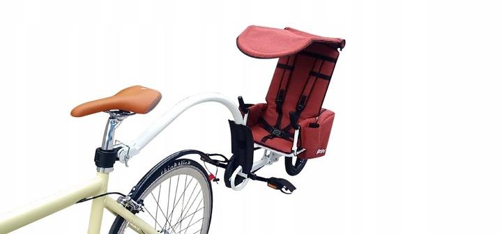 Przyczepka rowerowa dla 1 dziecka Weehoo Thrill Liczba miejsc 1