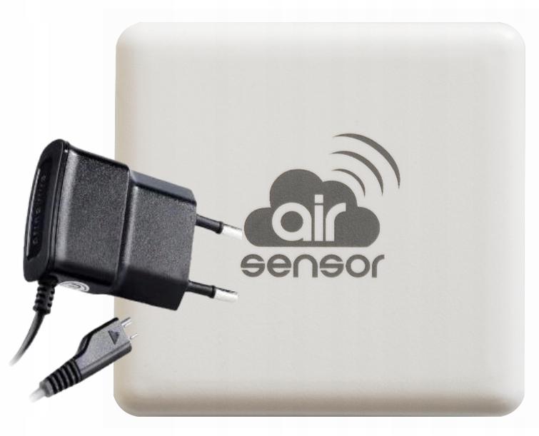 airSensor BleBox CZUJNIK SMOGU WIFI API + ZASILACZ