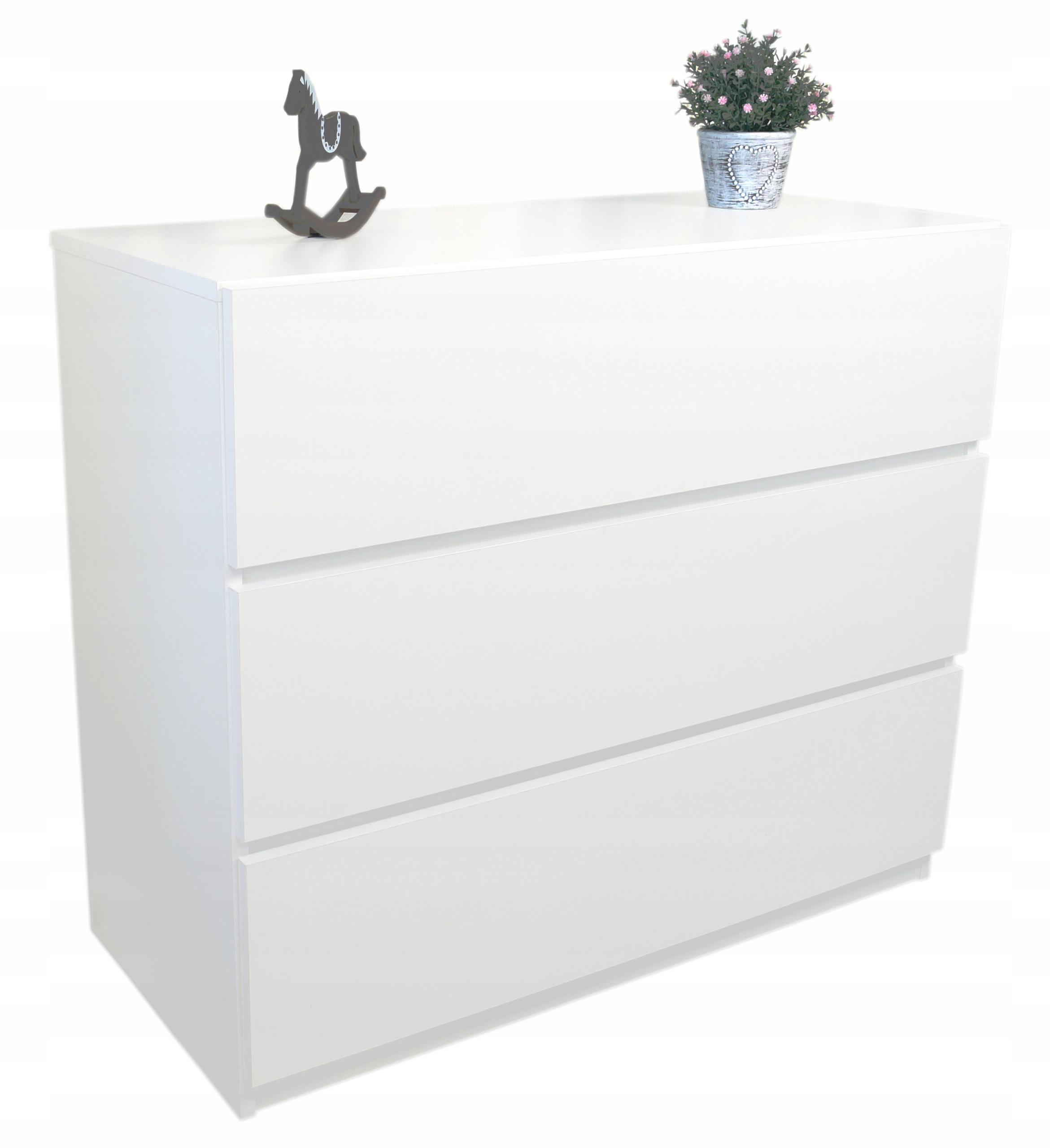 Komoda biała z szufladami NEO 90cm New Line Komody