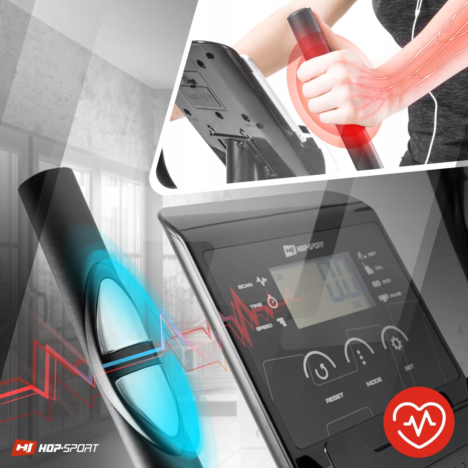 Rower stacjonarny magnetyczny treningowy regulacja Liczba stopni regulacji oporu 8