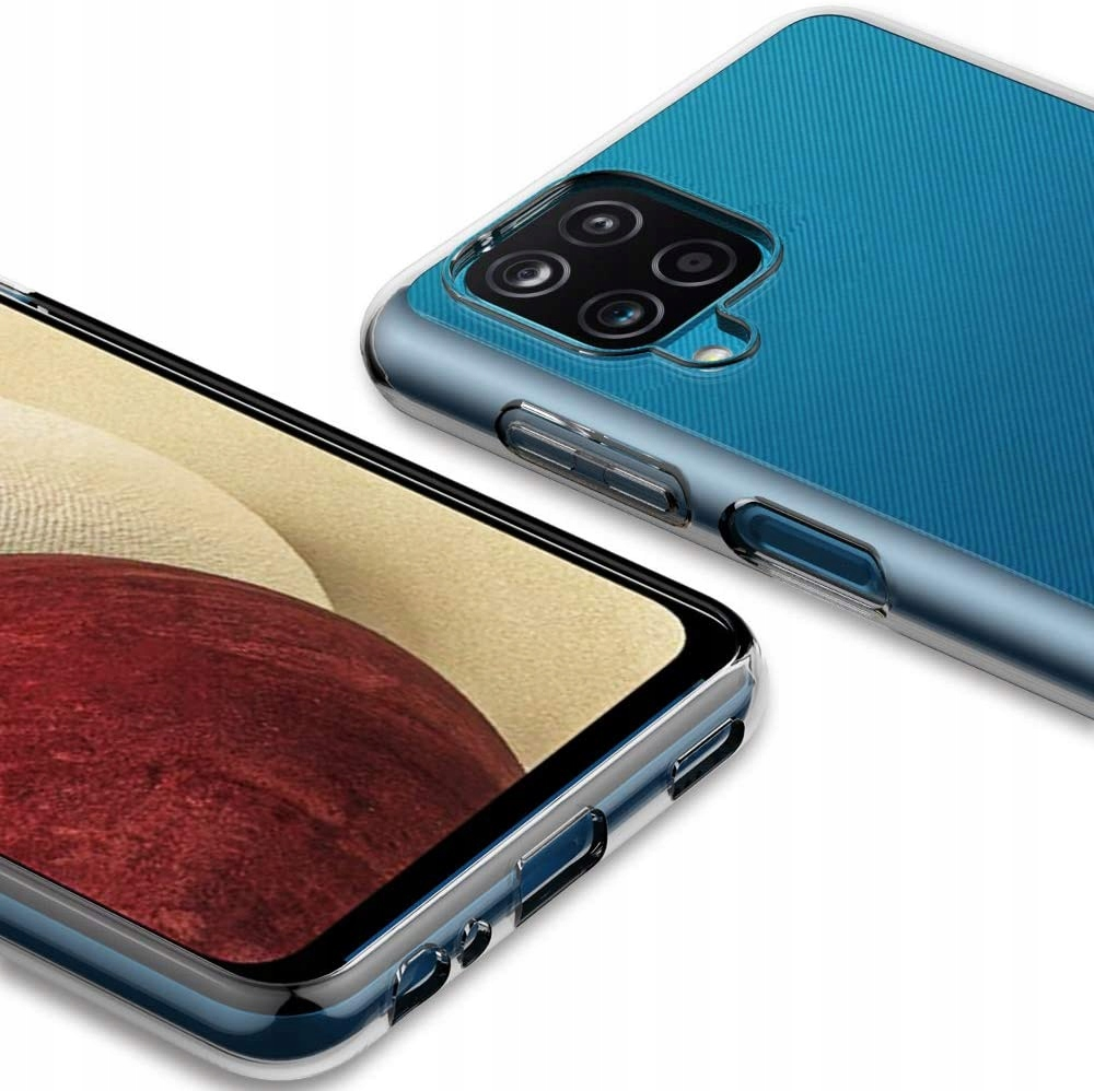 Etui Clear Case 2mm do Samsung Galaxy A12 Dedykowany model Galaxy A12