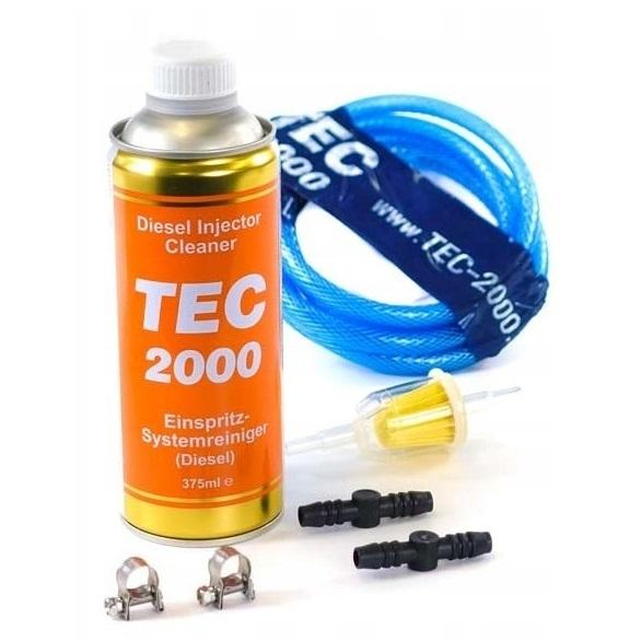 DIESEL INJECTOR CLEANER TEC 2000 очищает форсунки.