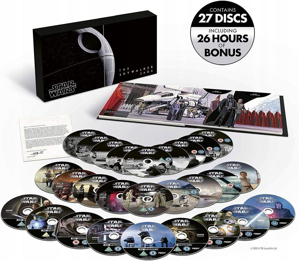 Item Star Wars 1-9 [9 Blu-ray 4K] Skywalker Saga