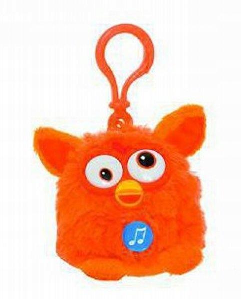 Furby Mascot Keychain s oranžovým zvukom