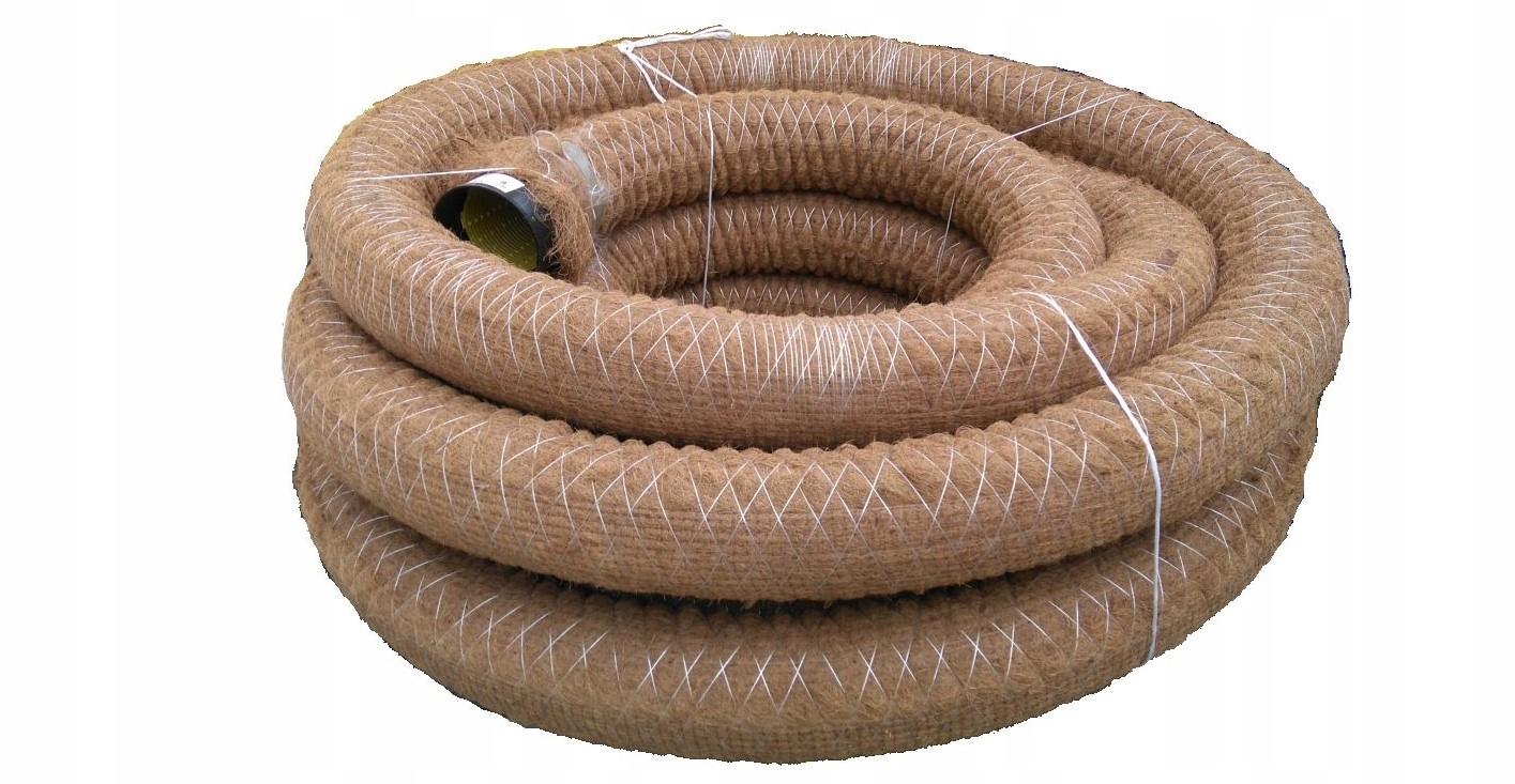 Дренажная труба PVC-U 125 из кокосового волокна