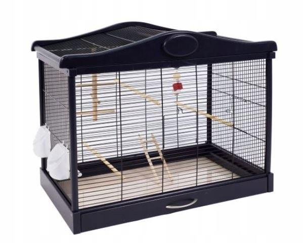 Деревянная клетка для птиц