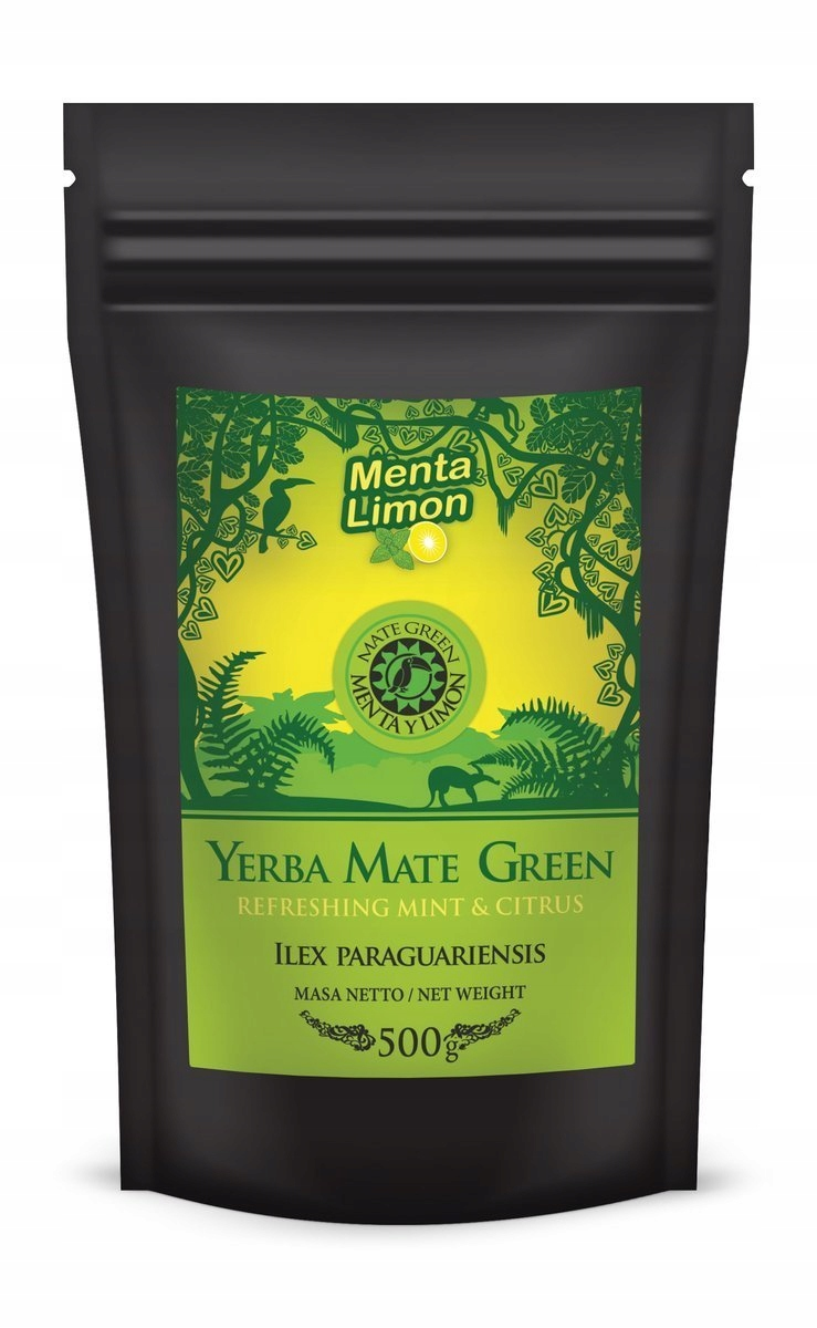 Yerba Mate Green Menta y Limon 500 г 0,5 кг Мята