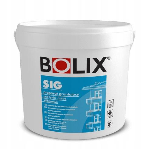 Купить BOLIX SIG GRUNT BIAŁY 25 KG на Otpravka - цены и фото - доставка из Польши и стран Европы в Украину.