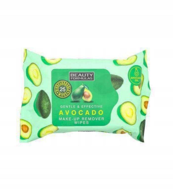 Салфетки для снятия макияжа с авокадо 25 шт. Соединенное Королевство