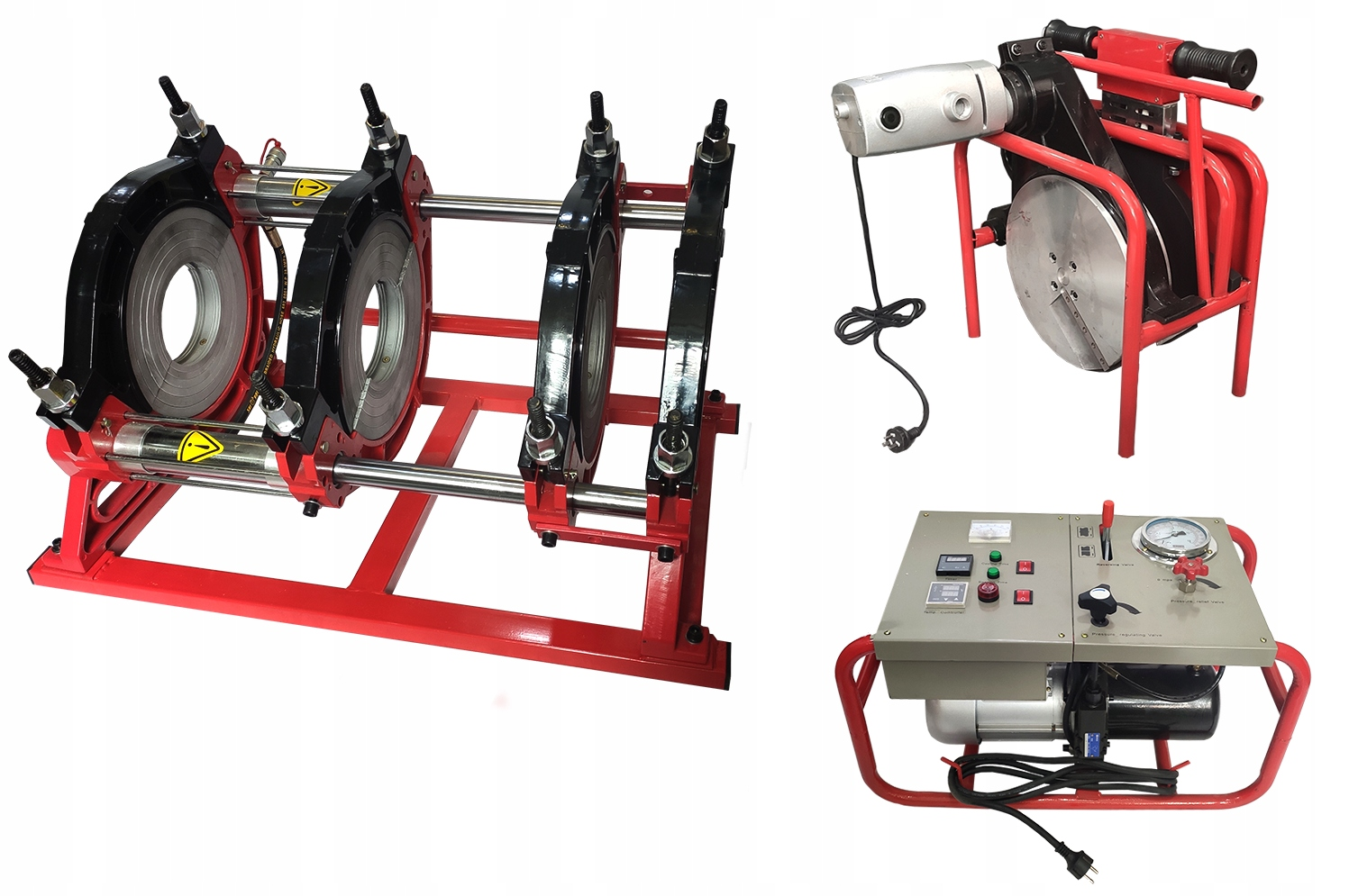 Дренажный аппарат для стыковой сварки HYDROTEC 90-315мм