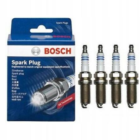4x Свеча зажигания bosch fr7dc+ 7955 0242235666