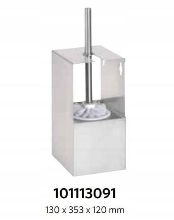 BEMETA 101113091 NIVA závesná WC kefa