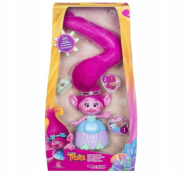 TROLLS - Doll Poppy DreamWorks Hasbro C1305