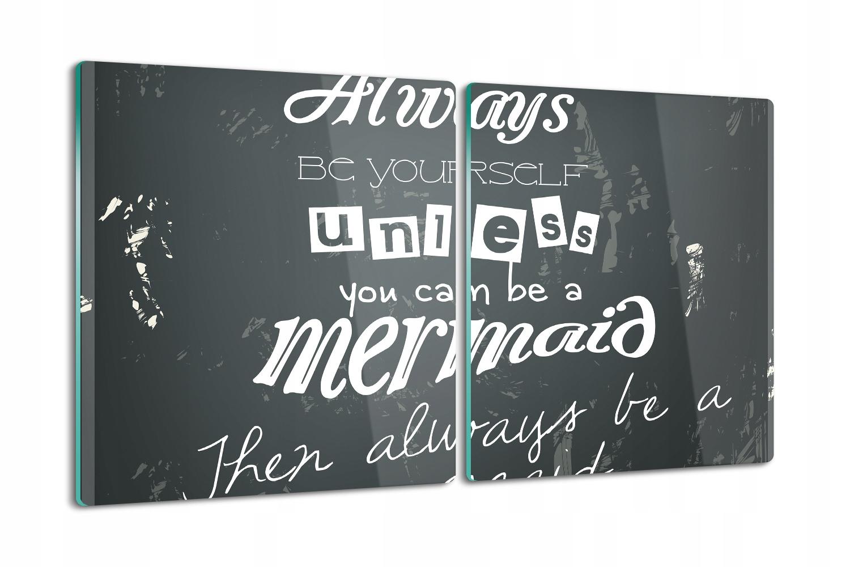 sklenená tabuľa 2x40x52 moderný retro myšlienkový plagát