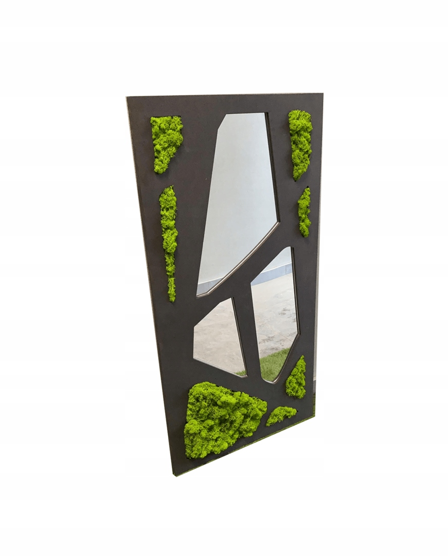 Серебряное декоративное акриловое зеркало MECH CHROBOTEK
