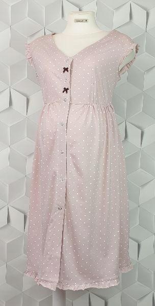 Coala Basia prášková ružová kojenecká košeľa