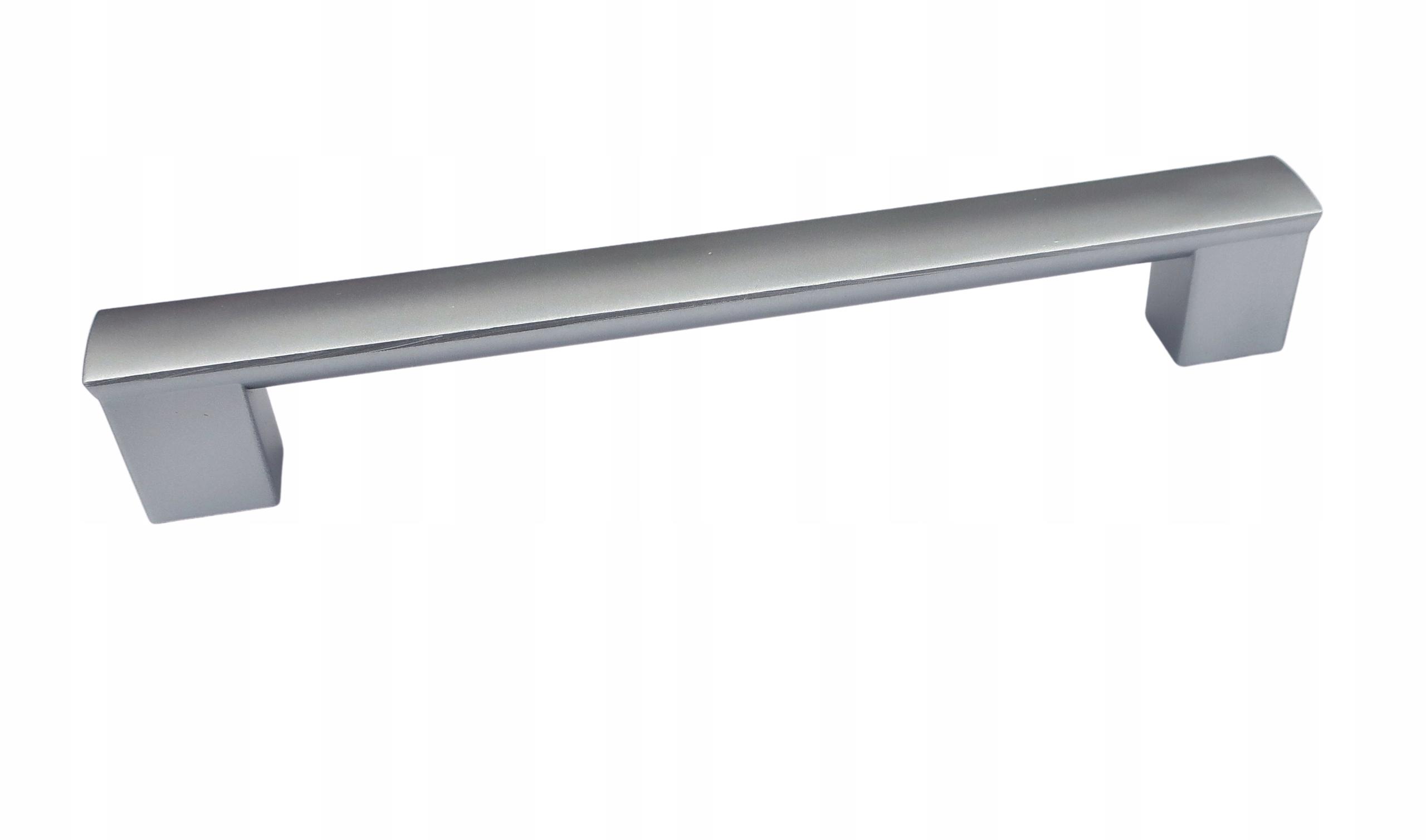 Ручка мебельная UC 160мм серебристая + винты