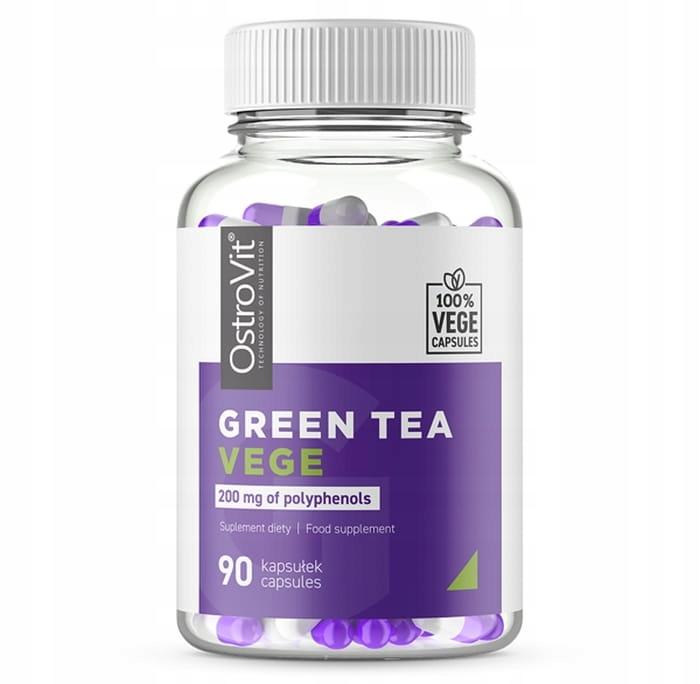 OstroVit Ekstrakt z liści zielonej herbaty 90 vege