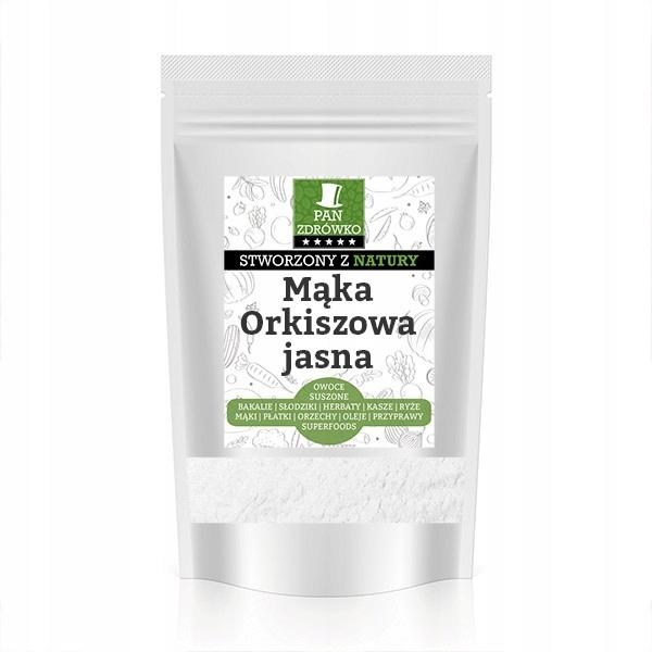 Mąka orkiszowa jasna 1kg