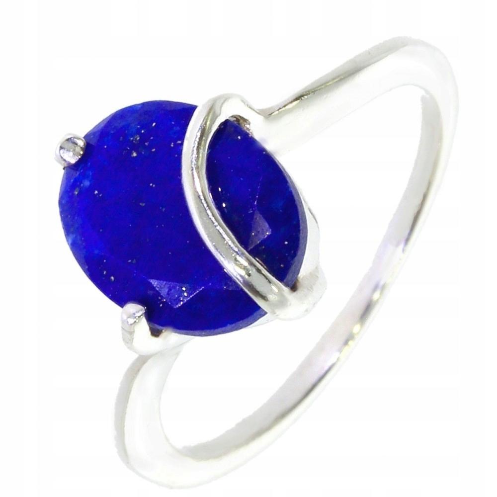 Strieborný Prsteň s Lapisem Lazuli 38-17