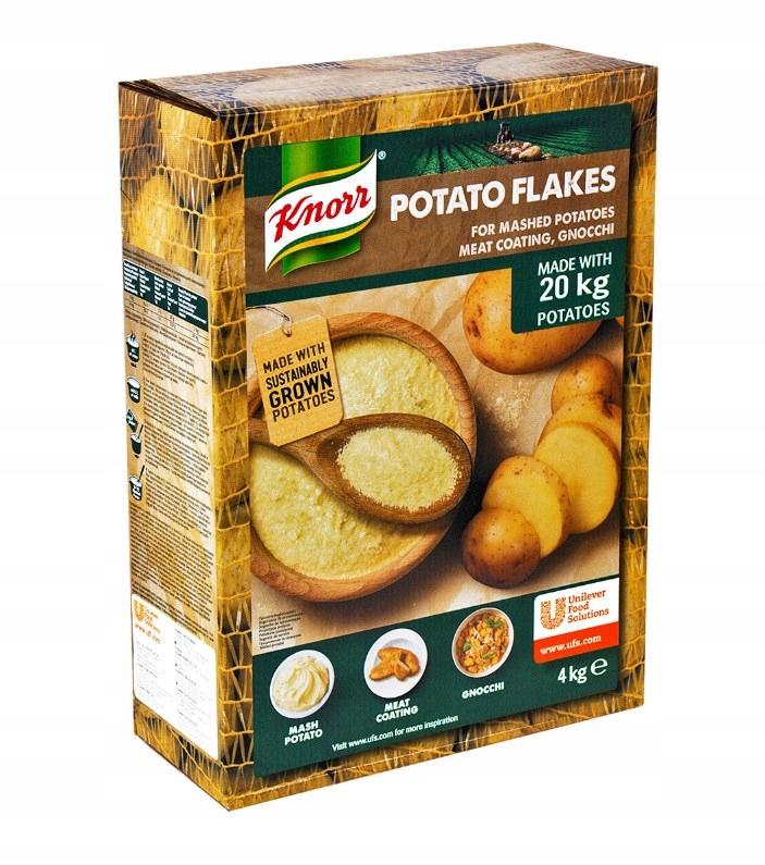 Okamžité Kašou zemiakové Vločky 4 KG Knorr