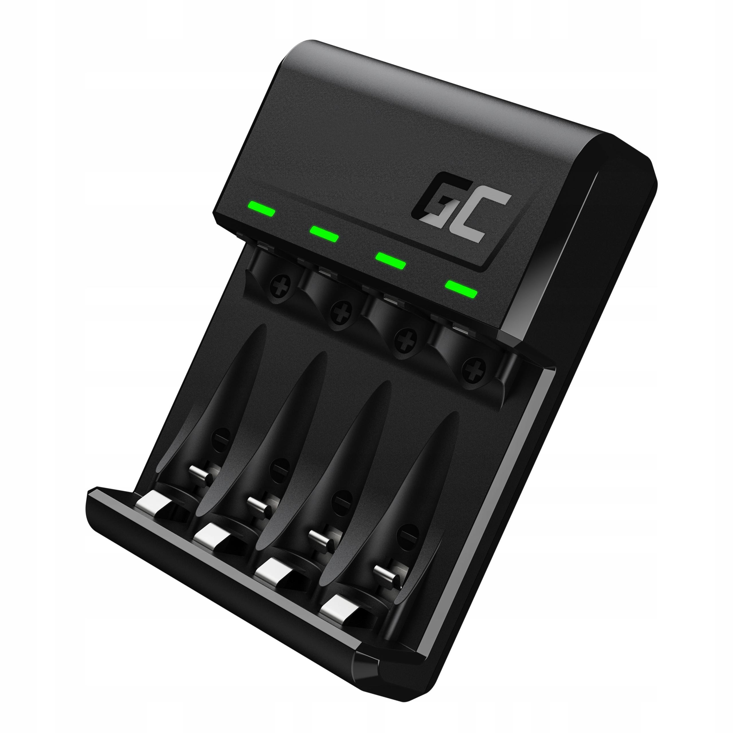 Ładowarka Green Cell akumulatorków baterii AAA AA