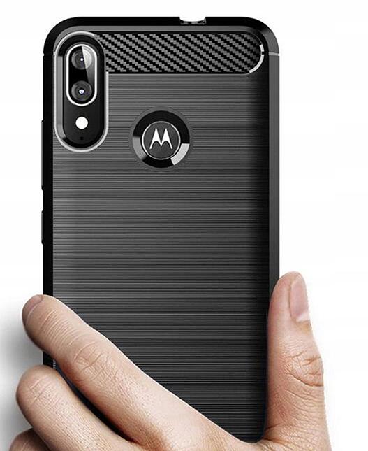 Etui do Motorola Moto E6 Plus Pancerne Case +Szkło Producent TOKR