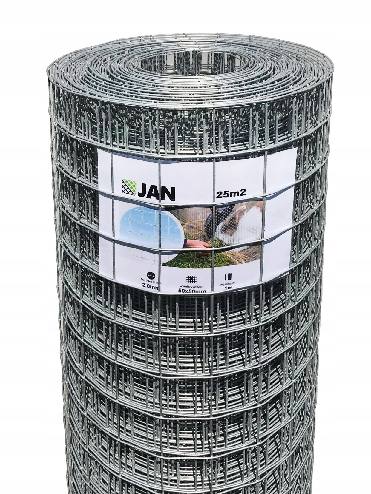 BREEDING NET WELDED OC 50x50mmx2.0mm (25m2)