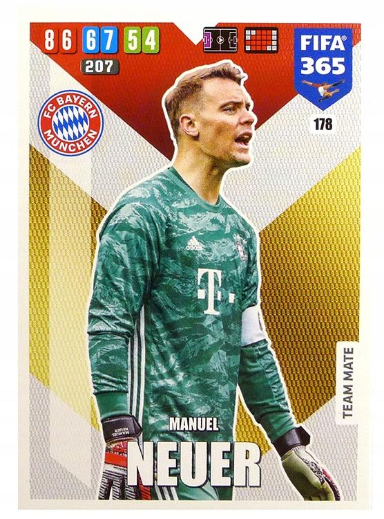 Купить PANINI FIFA365 2020 карта базовая 178 ...  на Otpravka - цены и фото - доставка из Польши и стран Европы в Украину.
