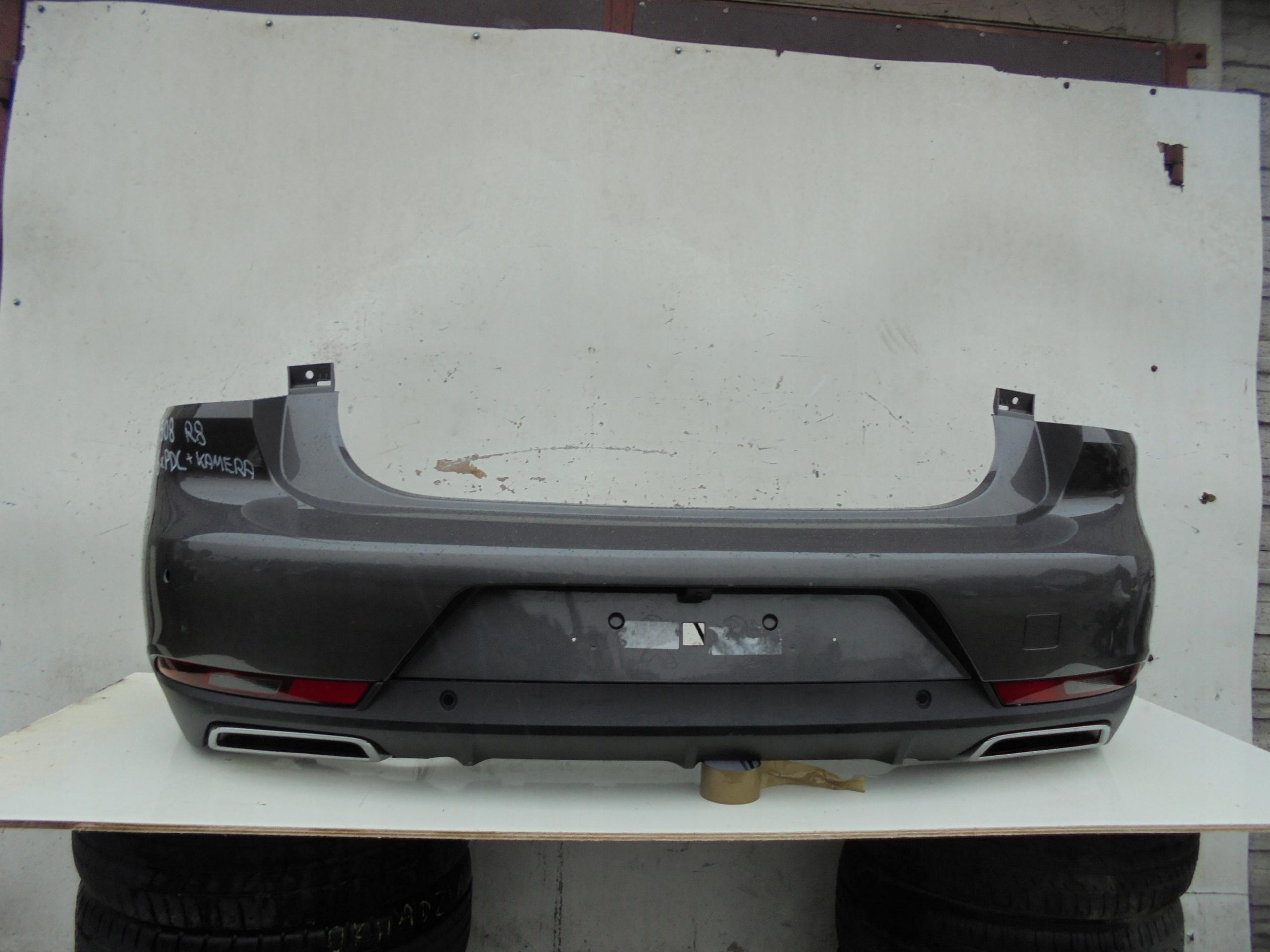 REAR BUMPER PEUGEOT 508 R8 6x PDC CAMERA