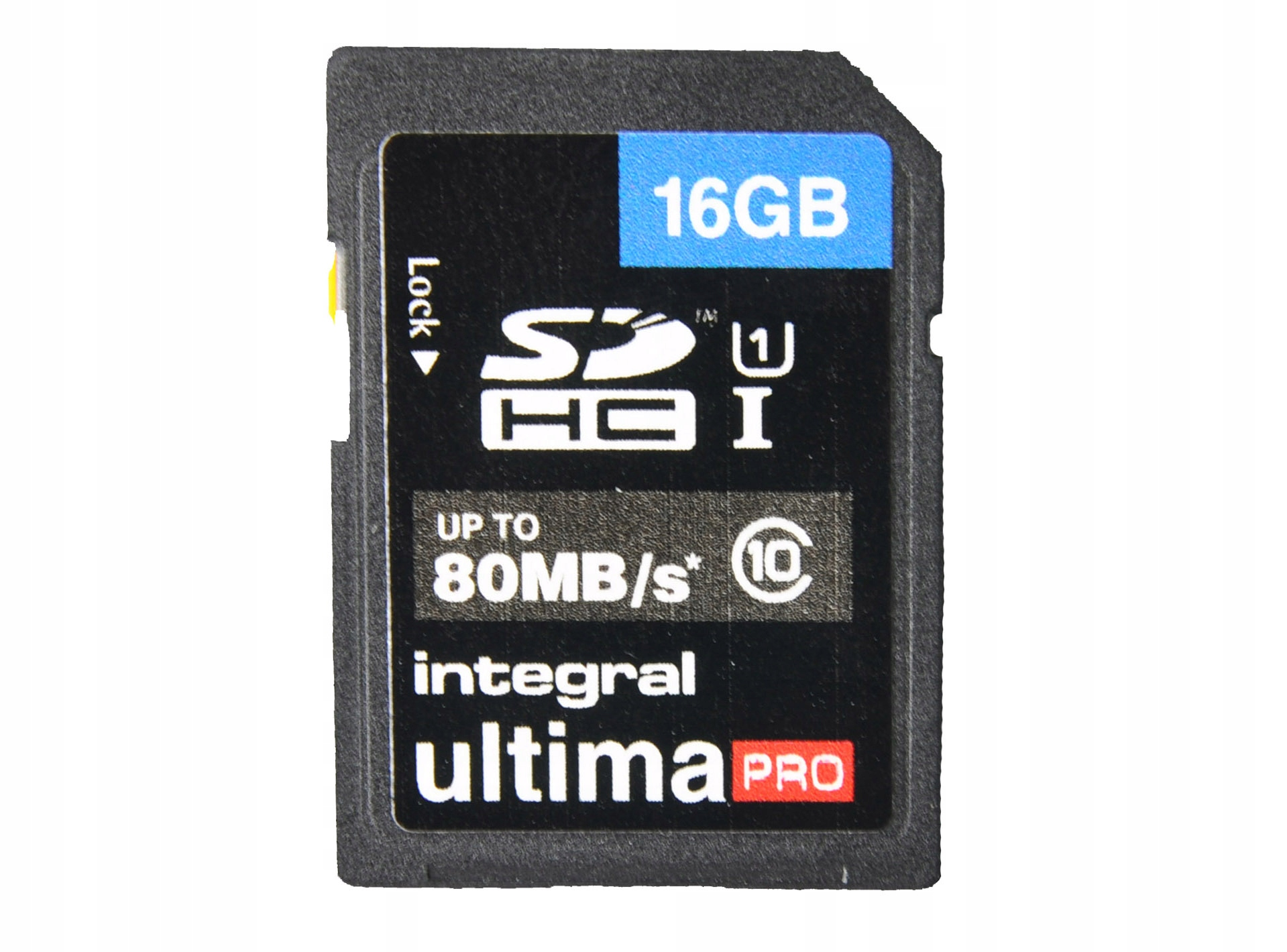 KARTA PAMIĘCI SDHC ULTIMA PRO 16GB 80MB/s C10