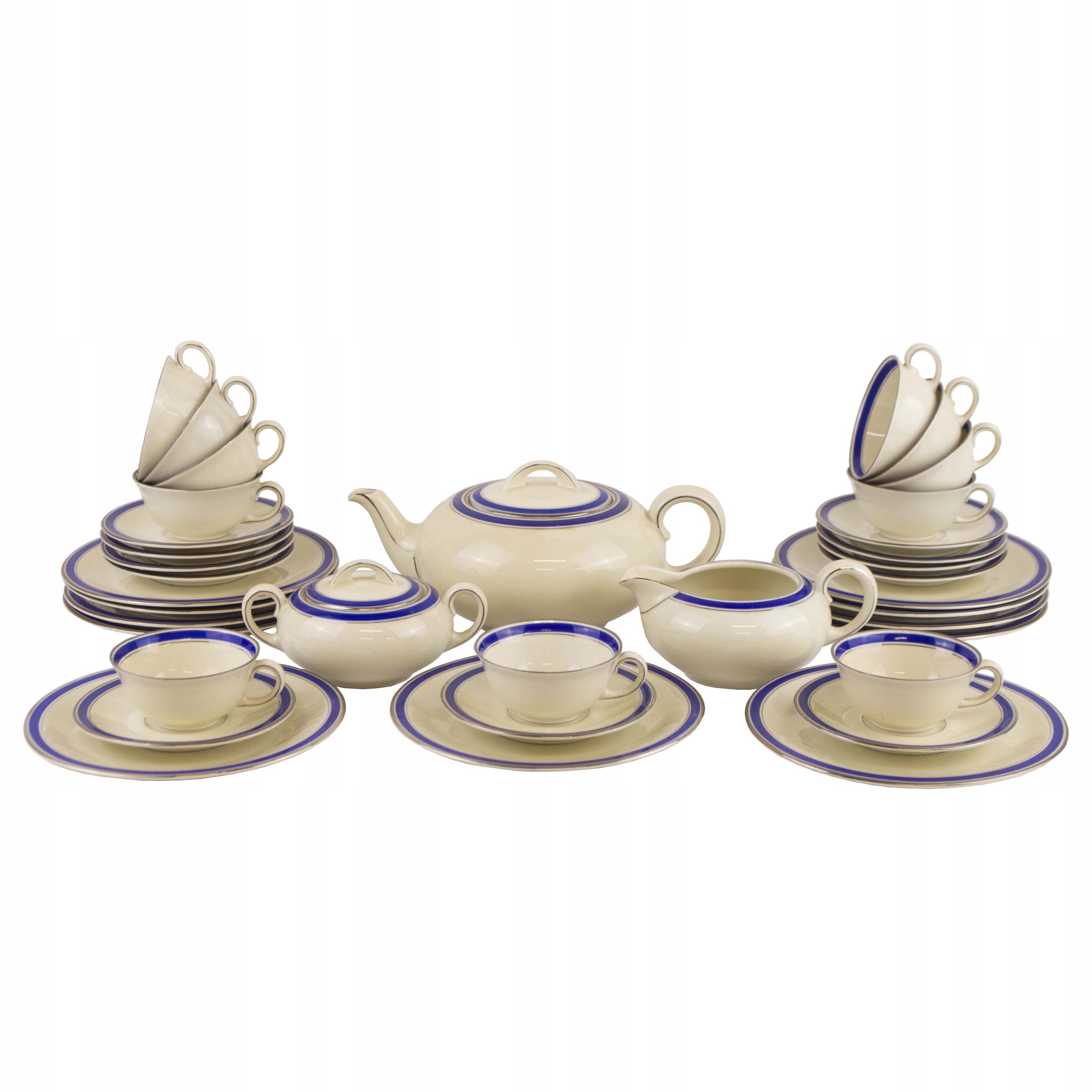 Serwis do herbaty 11 osób Furstenberg