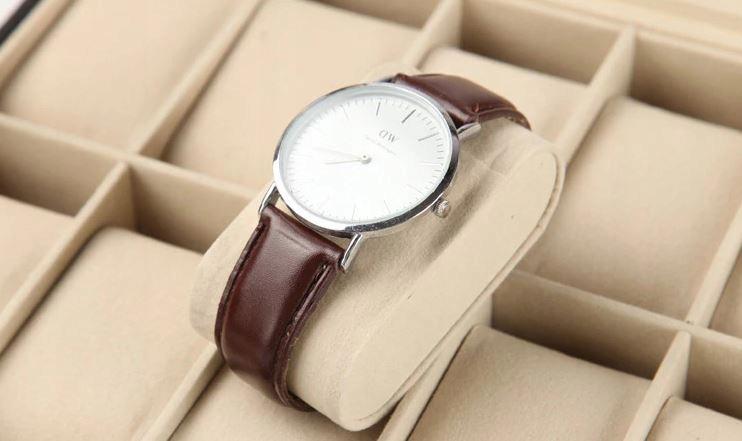 Pudełko Etui Organizer Szkatułka na Zegarki 12szt Model Kasetka na Zegarek Biżuterię