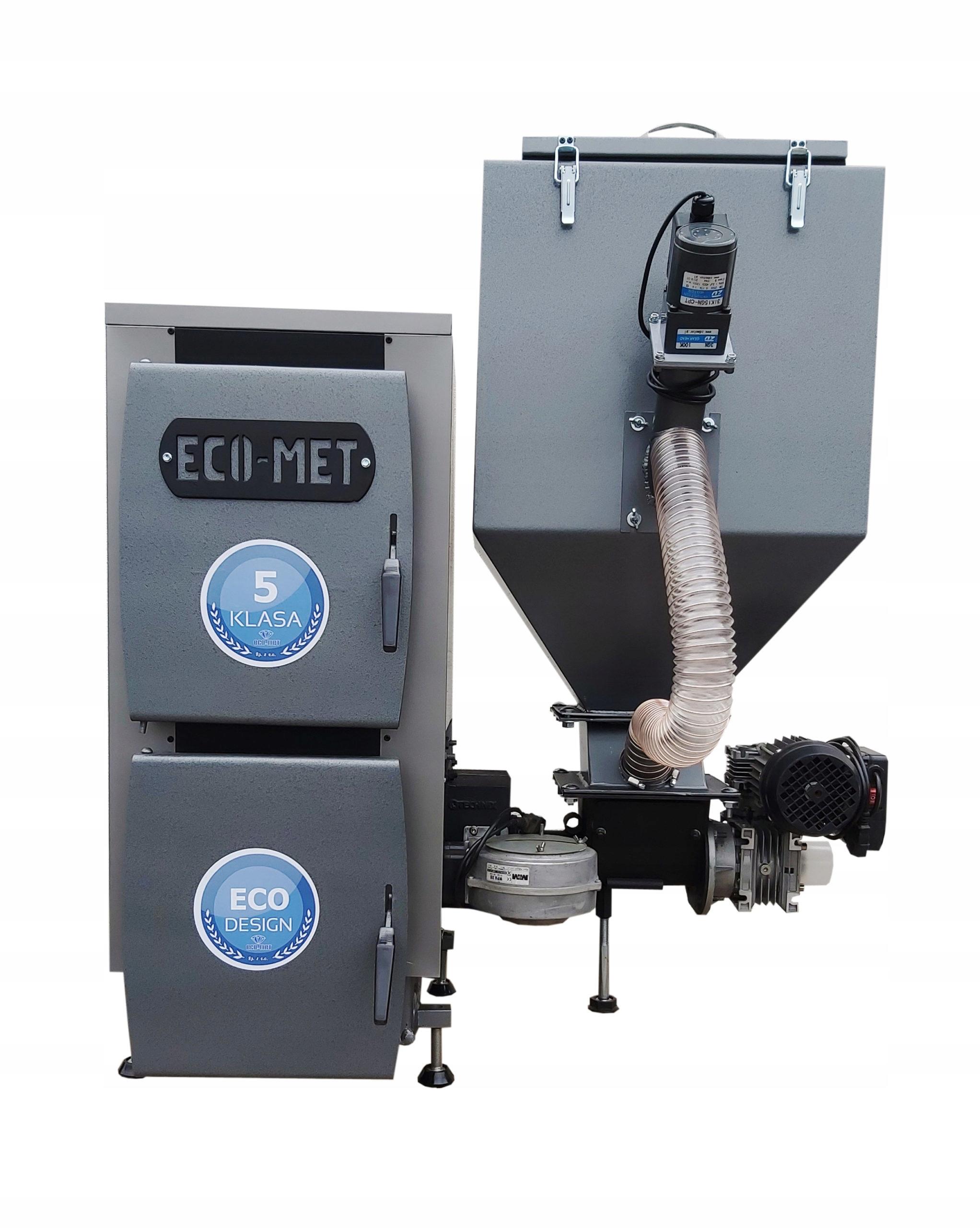Kachle, kotly na ekologické hrachové pelety na uhlie -TECHNIX 10 kW