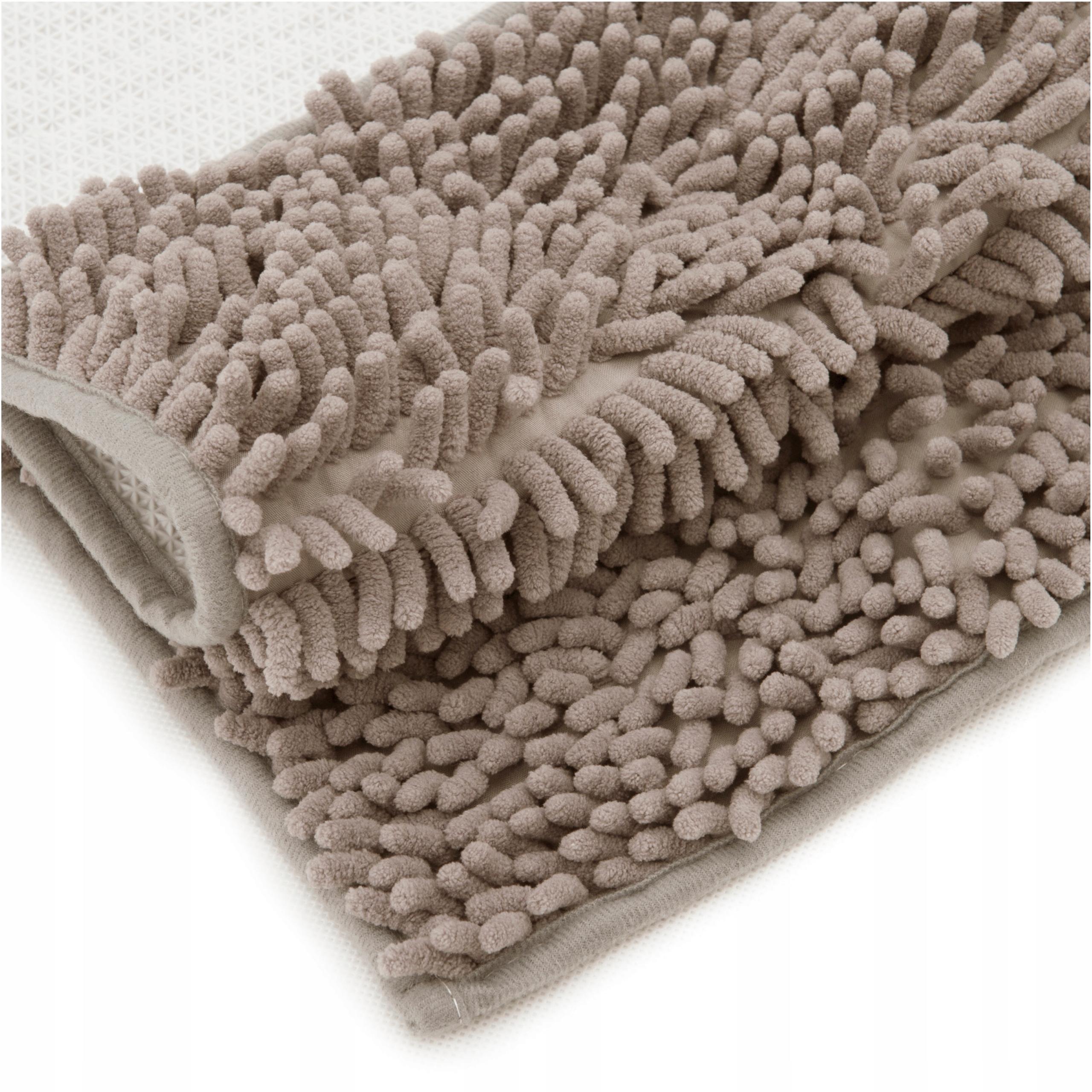 Dywanik łazienkowy antypoślizgowy 50x100 cm Beżowy