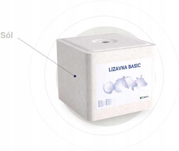 Соль Лизанка белая 10 кг микроэлементов козья, овца