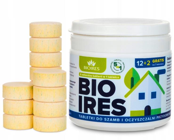 Таблетки 5-в-1 для канализационных септиков Bioires 12 2