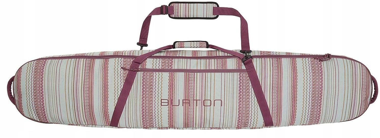 kryt Burton Gig Bag - Vyžívajú Aqua Šedým Prúžkom
