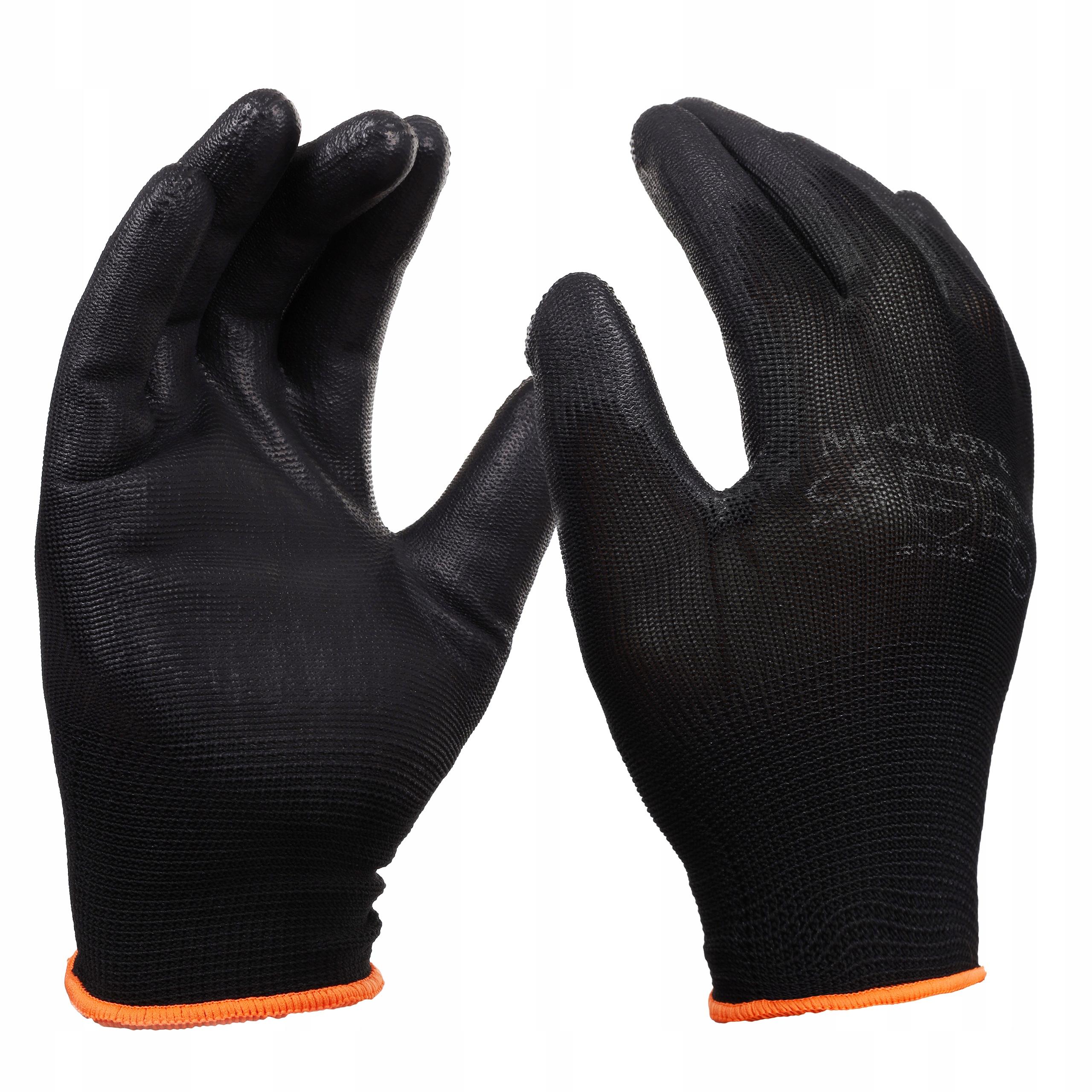 Rękawiczki RĘKAWICE ROBOCZE POLIURETANOWE PU r10