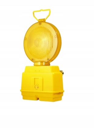 Sunset lampa Cestná žltá výstraha 2 LED