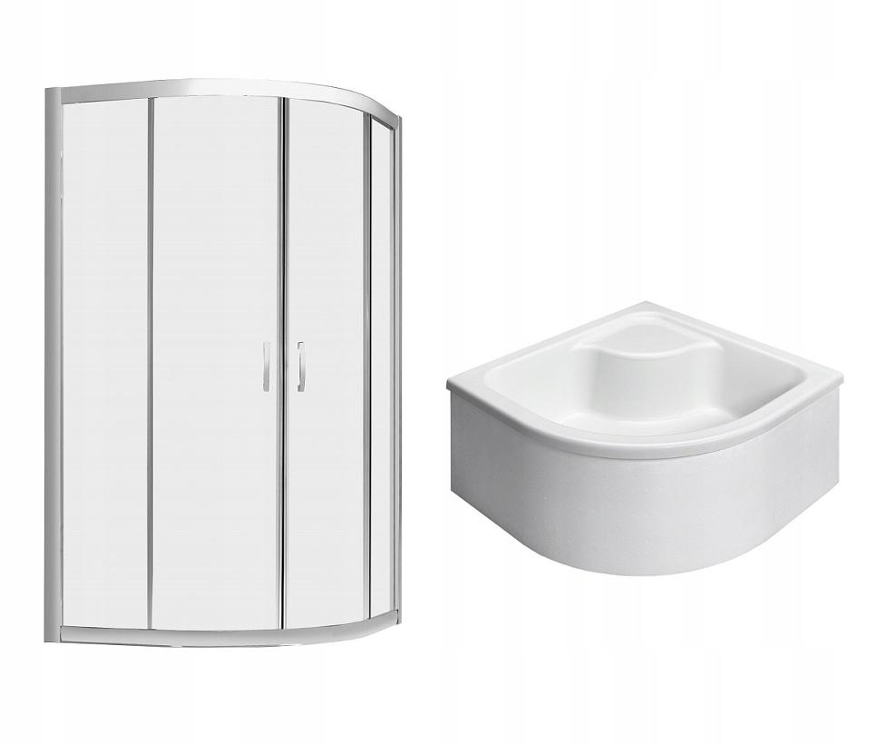 PREMIUM PLUS sprchovací kút A 90x90 x170 cm + sprchová vanička cl