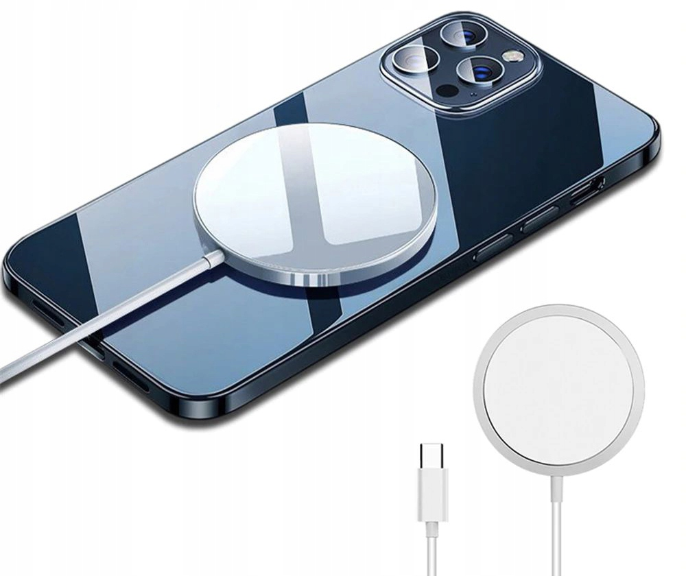 Szybka Ładowarka MagSafe iPhone 12 12 Pro Max Mini Złącza USB typ C