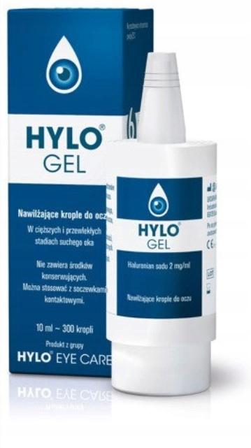 Hylo-Gel Żel Krople Nawilżające Do Oczu 10ml