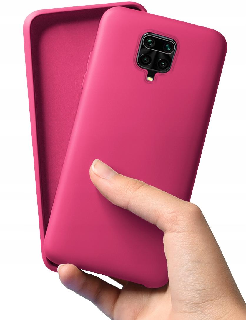 Etui do Xiaomi Redmi Note 9 Pro 9S Silikon + Szkło Dedykowany model Xiaomi Redmi Note 9 Pro 9S